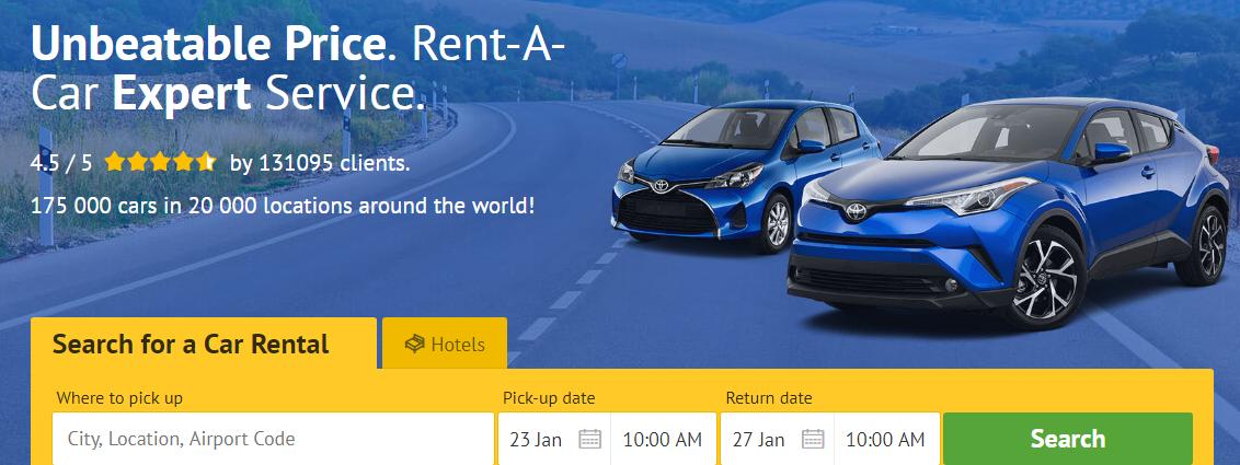 Image result for budget car rentals banner